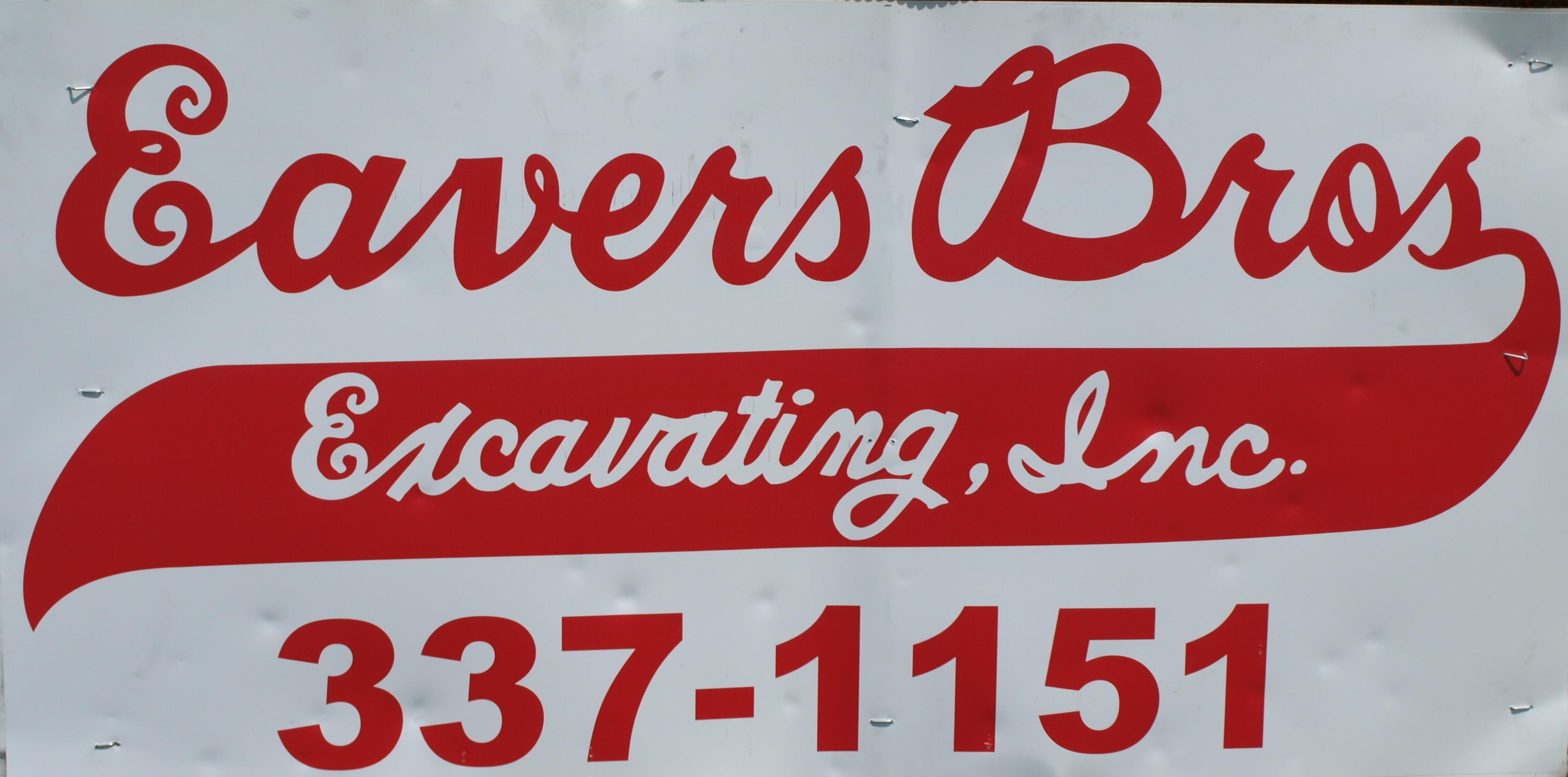 Eavers Bros. Excavating Inc.